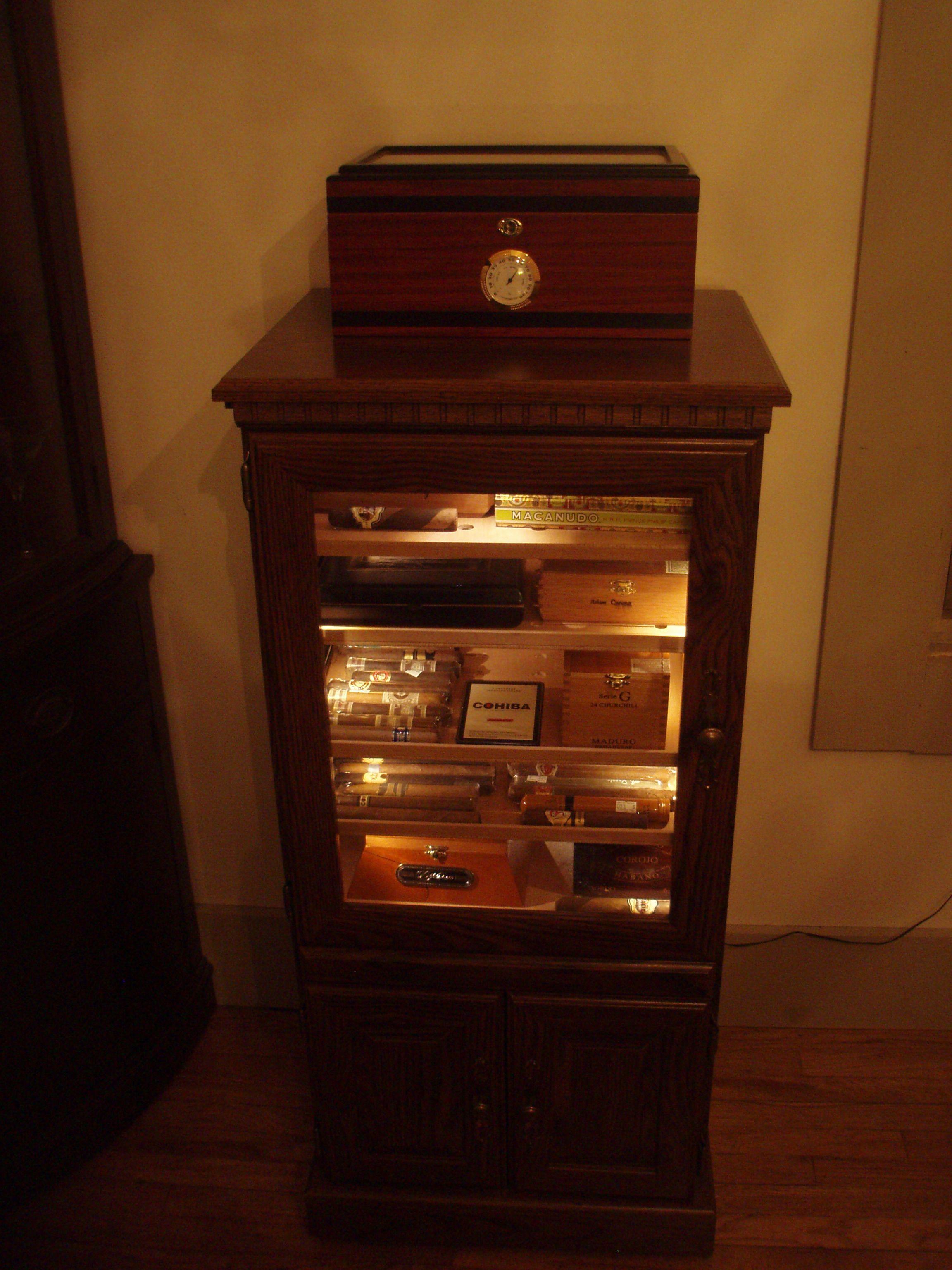 home built humidor Cigar Pinterest
