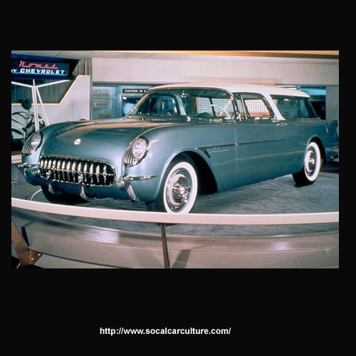 1953/54 Chevy Corvette Waldorf Nomad Concept Car