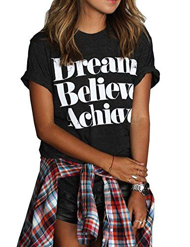 a54e38e3151 Haola Womens Summer Fashion Printed t Shirts Funny Street Juniors Tees  Short Sleeve TopsAvailable In