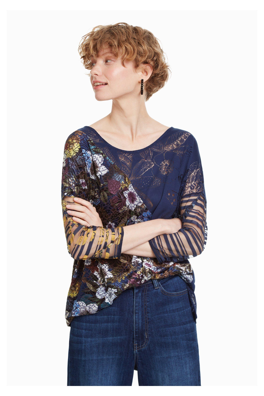 Pracy Shirt Sleeved Pinterest T Do Kirune Materiały Women's Long x8qwOnETI0