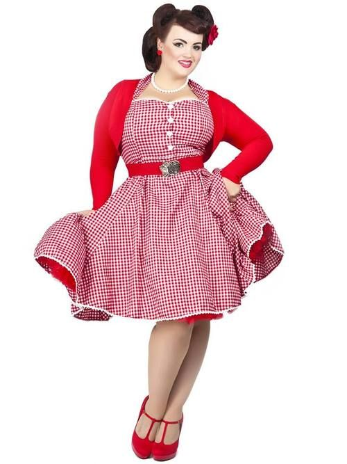 Pin by Dusti Akers on Clothing Ideas in 2019 | Plus size rockabilly ...