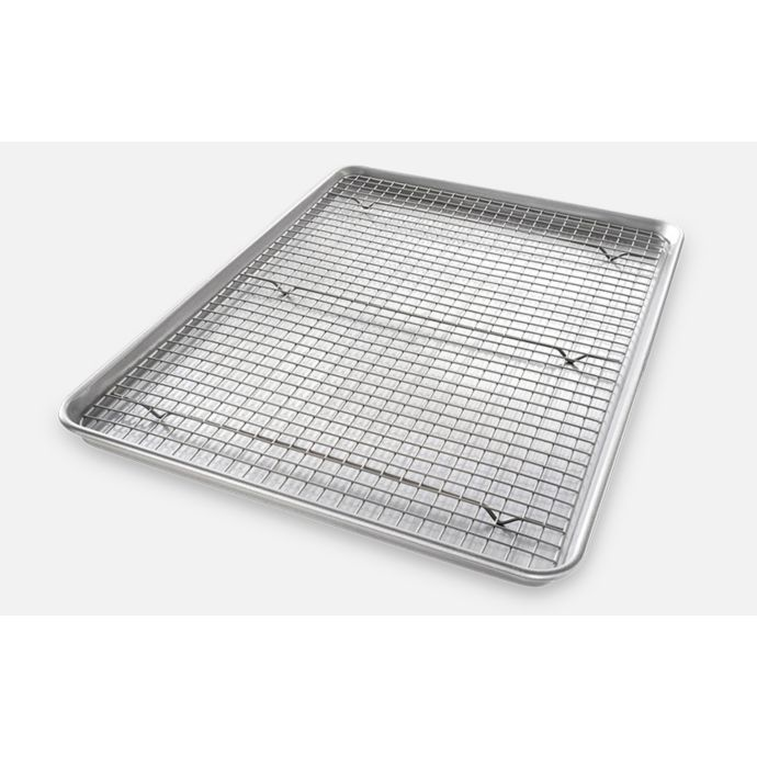 Usa Pan Baking 2 Piece Pan Rack Set Pan Rack Pan Rack