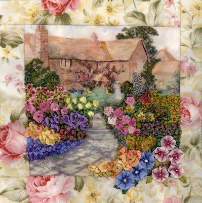 CRAZY QUILTING INTERNATIONAL    beautiful embroidered blocks....<3