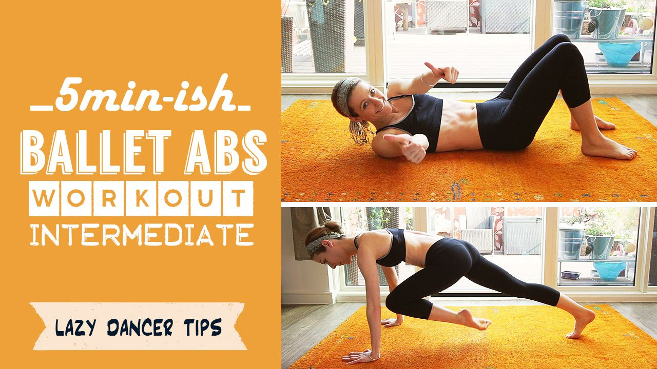 5 minute-ish Abs Workout – Intermediate | Abs workout ...