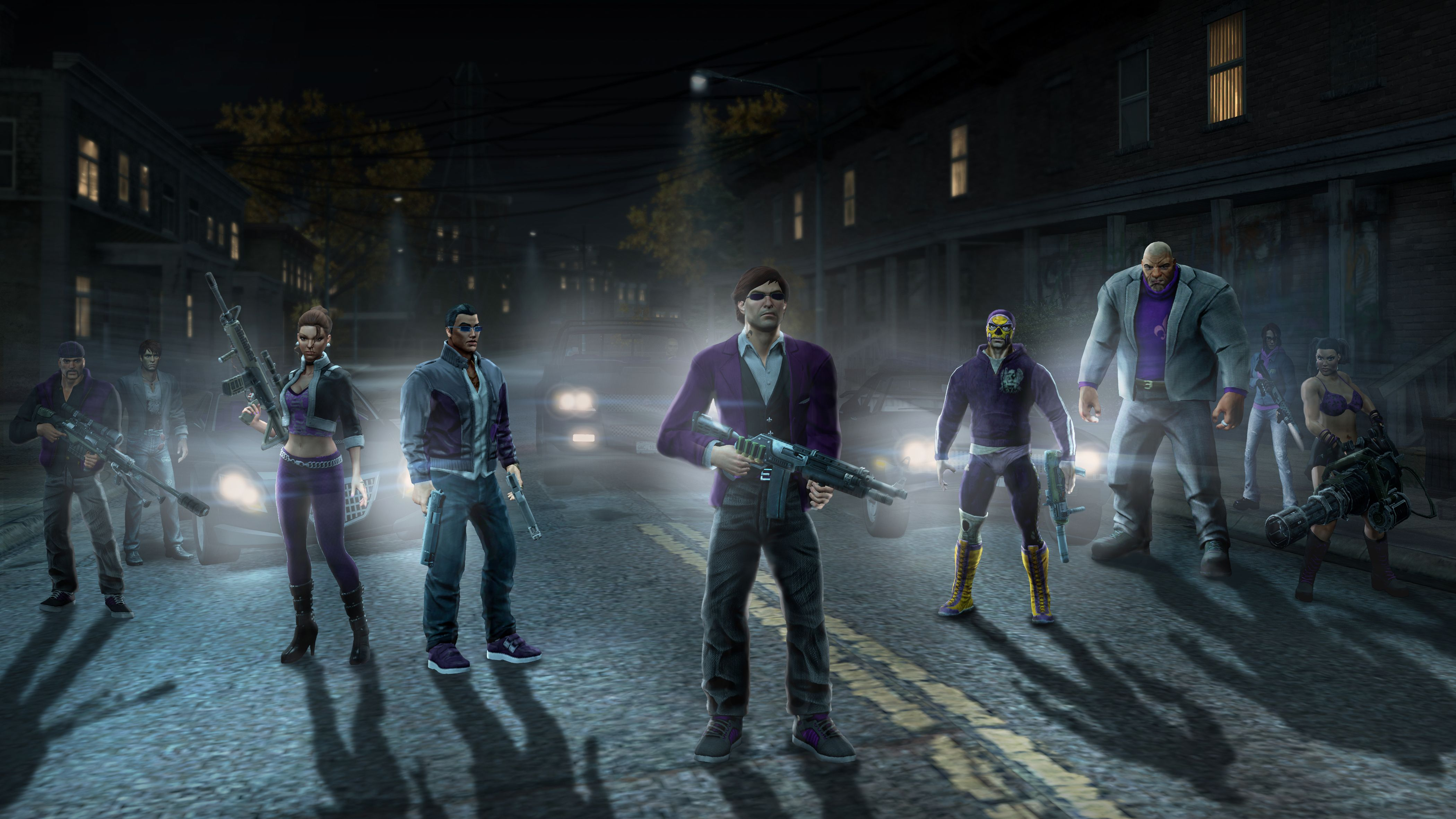 Saints Row 3 Deckers | From left to right : | Things to Wear ...