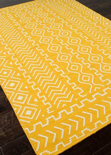 Jaipur Rugs Ub19 Urban Bungalow Design Doha Color Mango Flat
