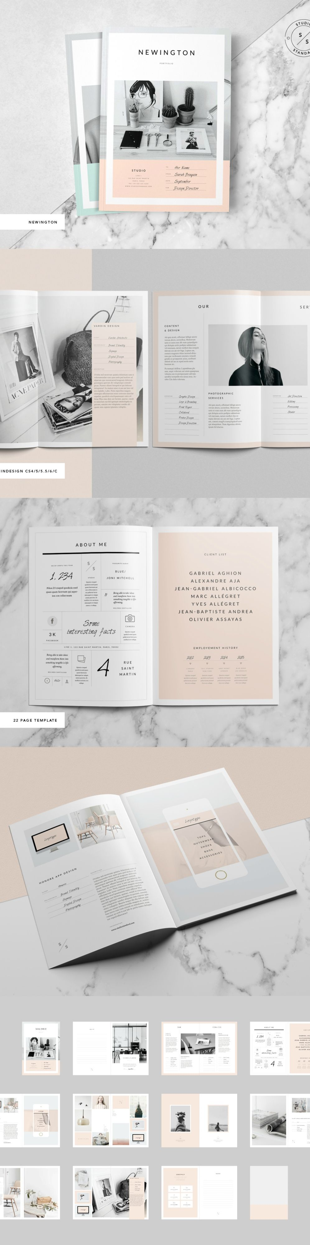 brochure magazine template on creativemarket a4 a5 personal
