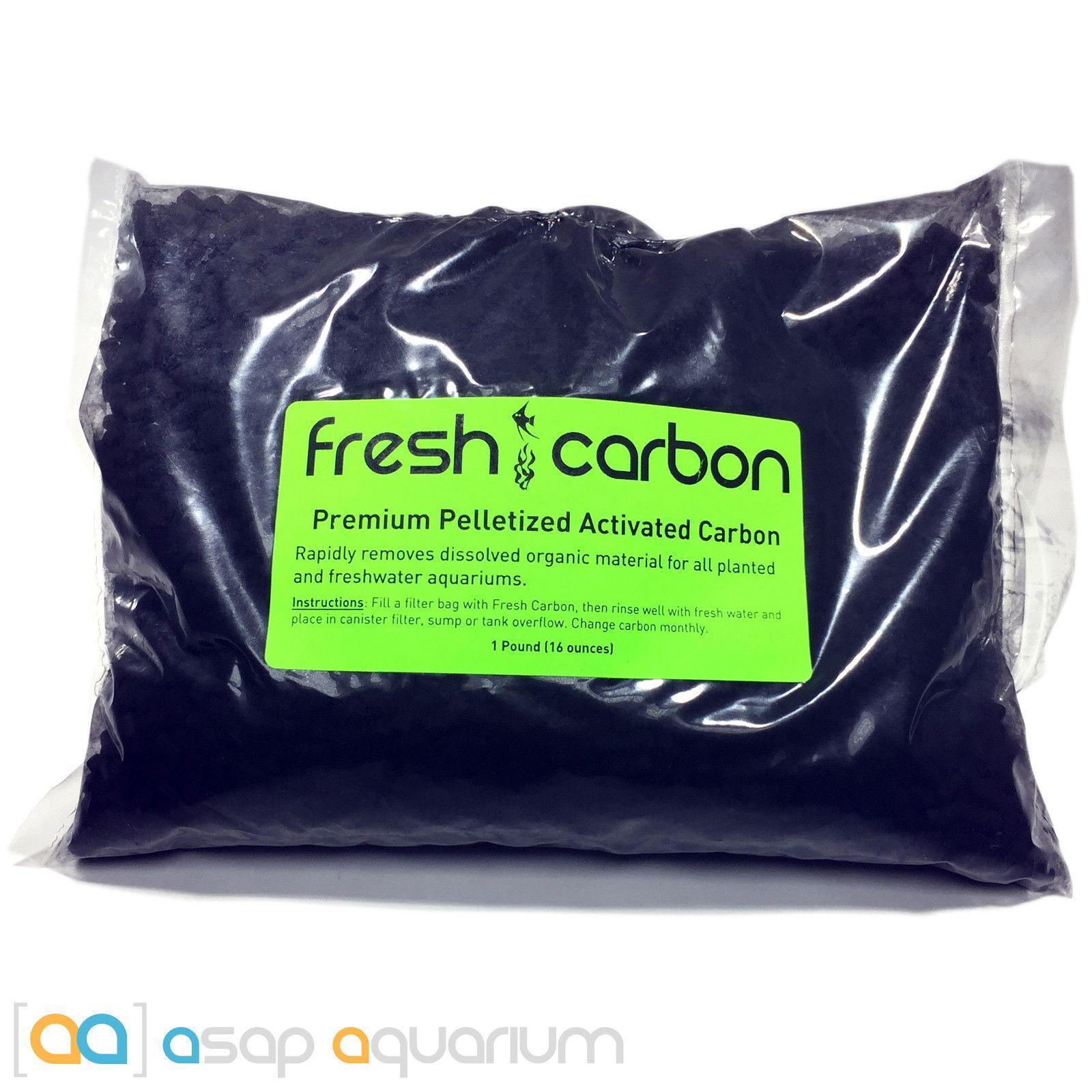 fresh carbon 16 oz premium activated pelletized carbon for
