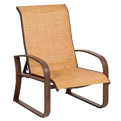 Woodard Sling Patio Furniture.Woodard Cayman Isle Sling Adjustable Patio Chair Color Chocolate