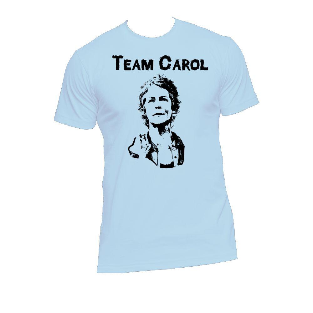Team Carol, Carol Peletier Ladies or Mens T Shirt, Walking Dead, Nerd Girl Tees, Geek Chic, Carol Peletier