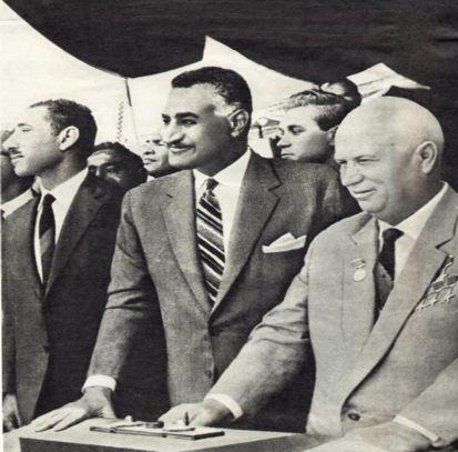 عبد الناصر وخروتشوف