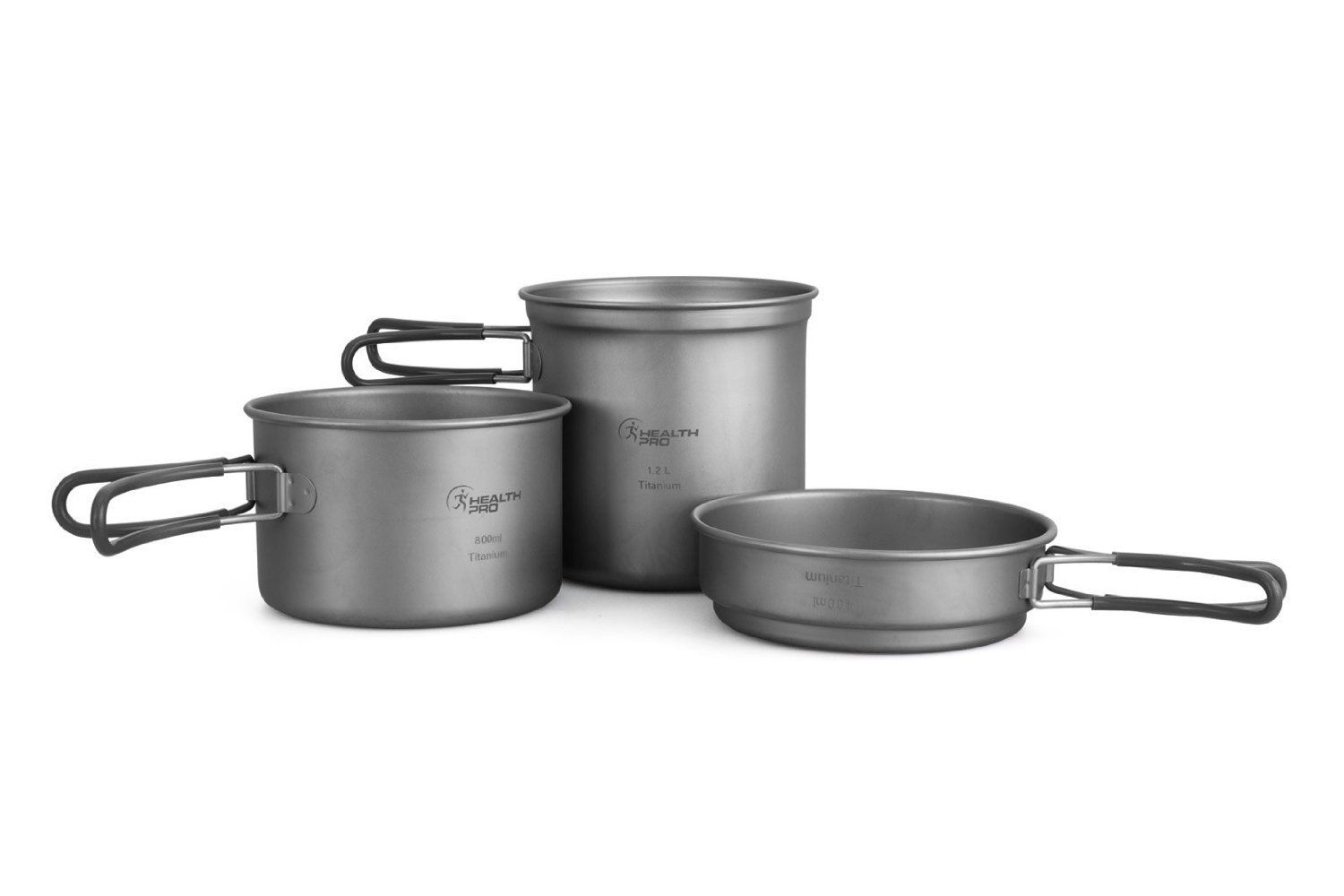 ProHealth HealthPro Titanium Lightweight Pot Cookware Set