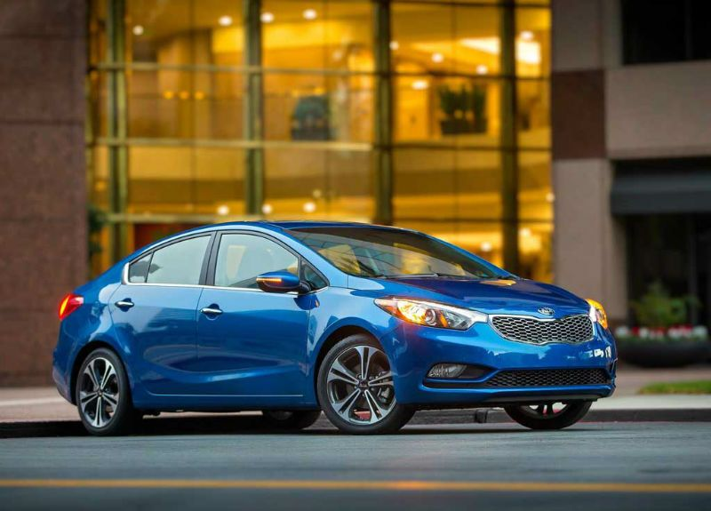 2016 Kia Forte Blue Color
