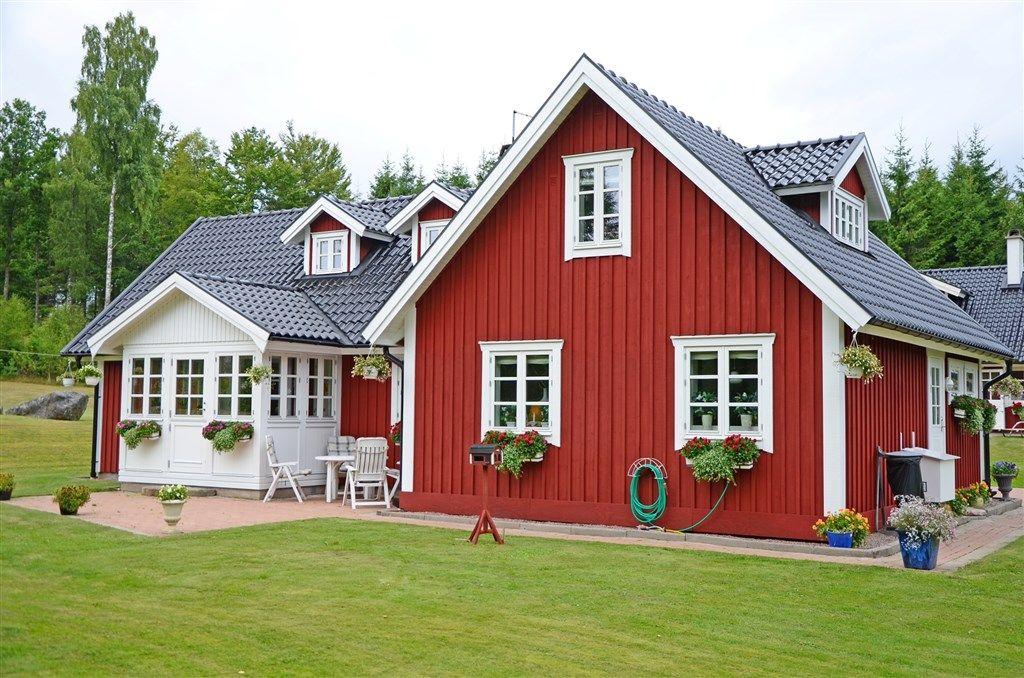 svenska hus scandinavian things pinterest schweden h user in schweden und haus. Black Bedroom Furniture Sets. Home Design Ideas