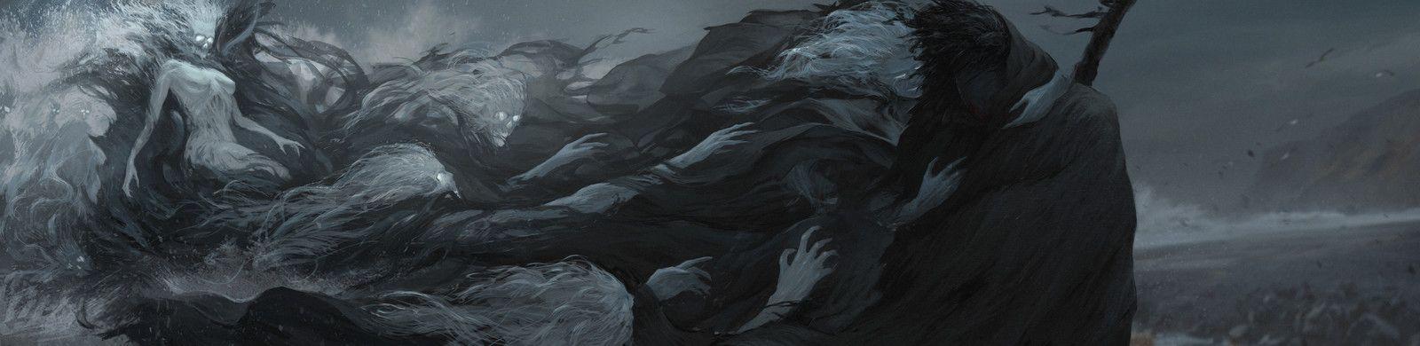 Death call, Artem Demura on ArtStation at https://www.artstation.com/artwork/RggdX