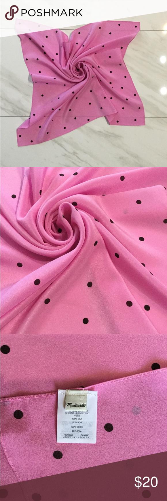 Madewell Silk Scarf Nwot Pretty Scarves Scarf Scarf Accessory
