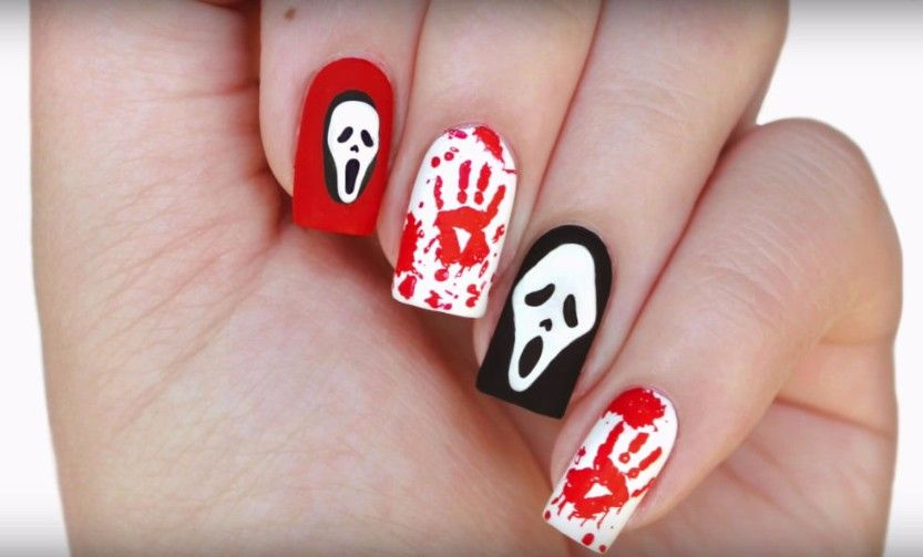 We\'re counting down the days to Halloween. These fun nail art ideas ...
