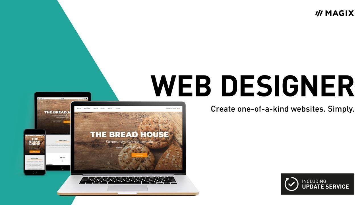 Xara Web Designer Easily Create Your Own Website 2019 Web Design Create Your Own Website Create Website