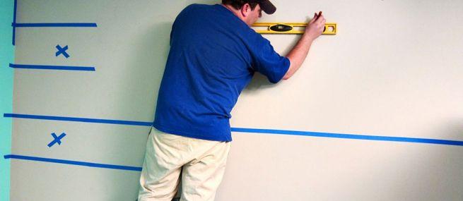 Truco para pintar una pared a rayas | Paredes | Pinterest | Pintar ...