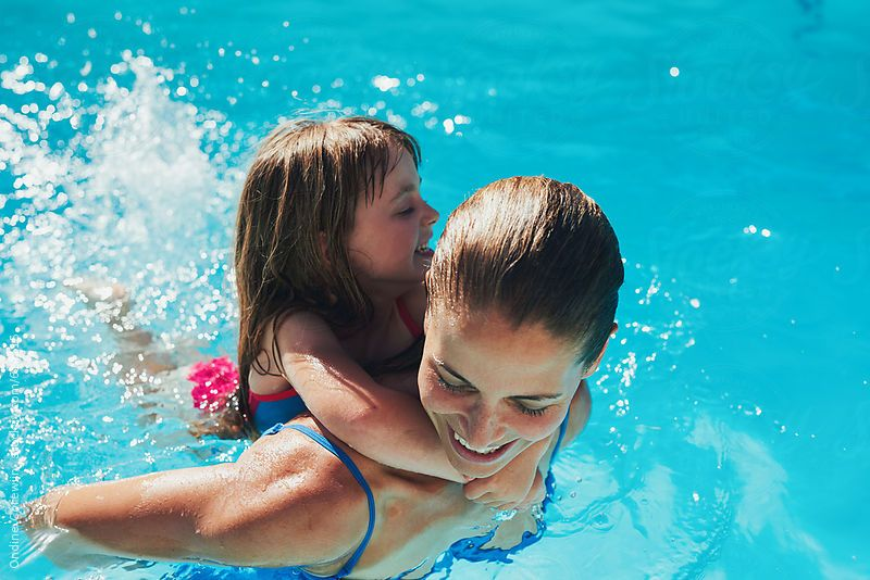 Remarkable phrase Sweet girls swim pool