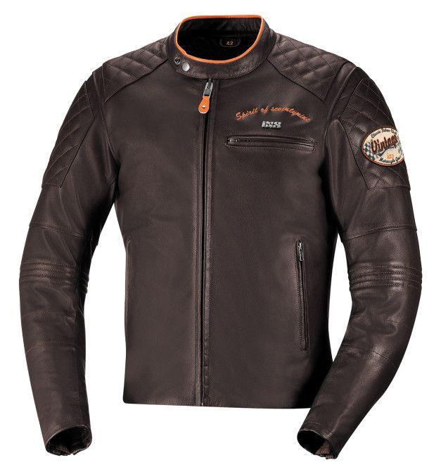 IXS Eliott leather jacket, love the vintage look!