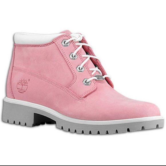 Pink Timberland Nellie Chukka Boots Timberland Nellie Chukka Boots Pink Timberland Boots Pink Timberlands