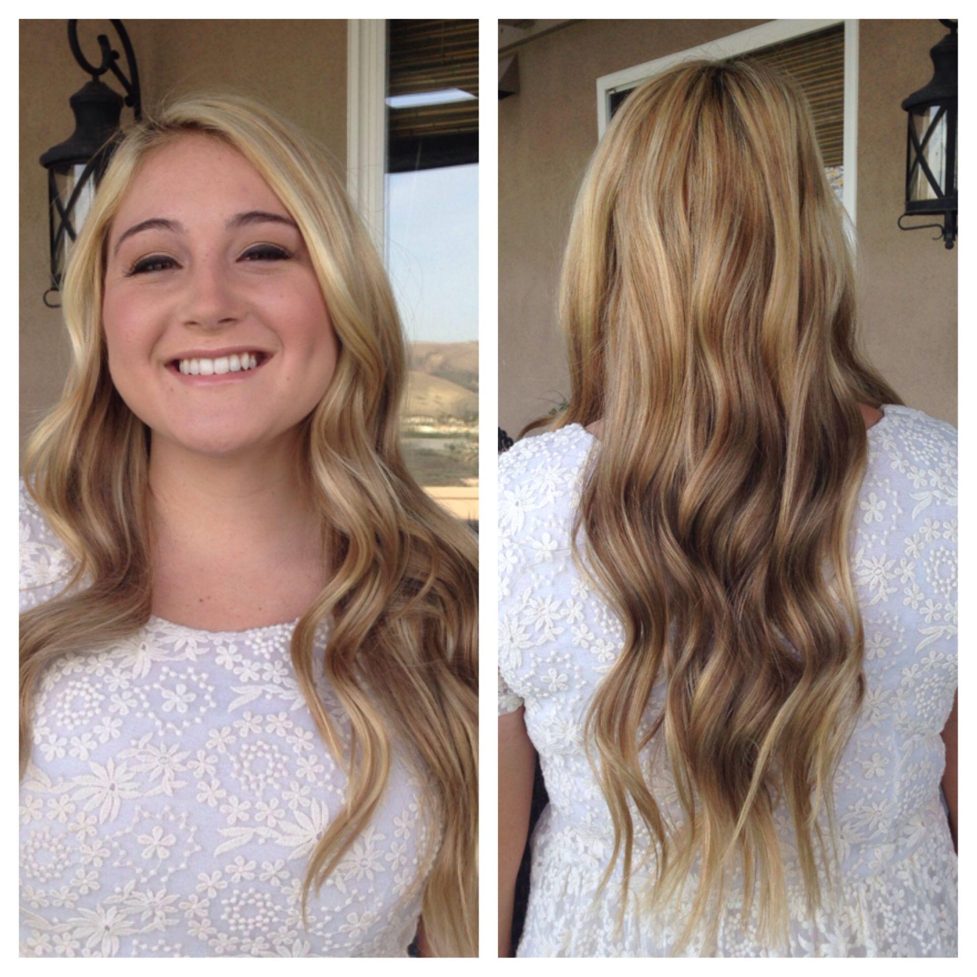 Wedding hair/ beach waves   Beach hair, Beach wave hair, Hair