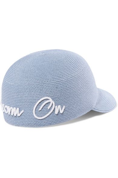 Bo Dream On Embroidered Hemp Cap - Blue Eugenia Kim xjx0k8HT