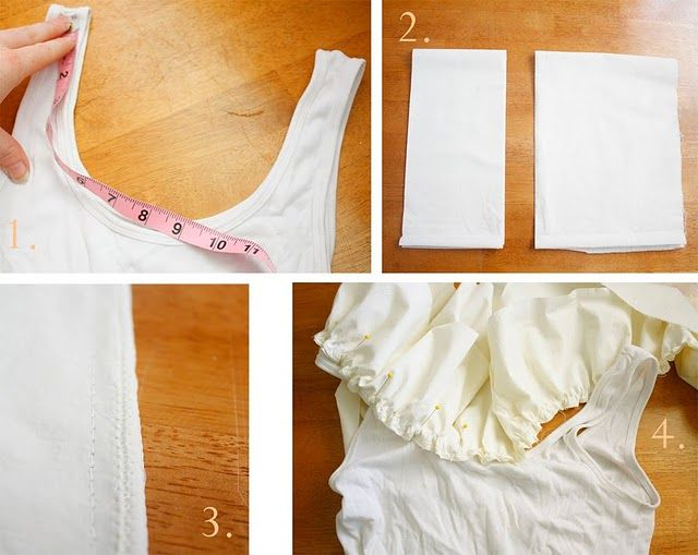 ruffle floral tutorial addition to tank top. way above my skill set...sigh