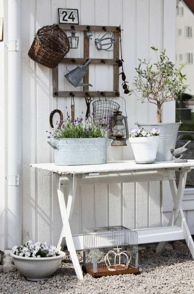 Garten Wanddeko vintage garten gestalten fensterrahmen deko check more at http