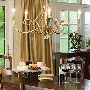 Room · twist chandelier frontgate