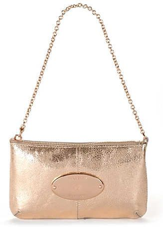 Mulberry Charlie Clutch Bag in Rose Gold Cracked Leather This Mulberry Rose  Gold Charlie Clutch is ae690a132a