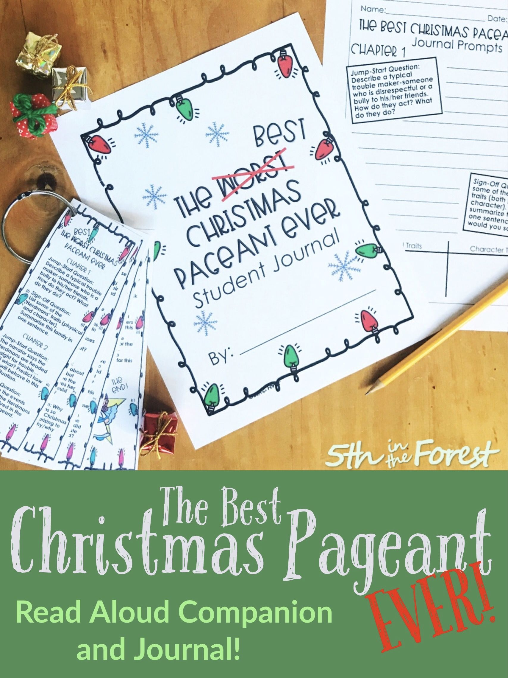 The Best Christmas Pageant Ever Read Aloud Companion