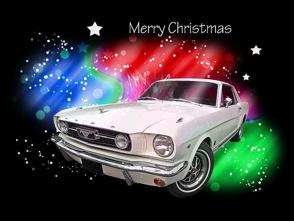 If You Know Someone Who Loves Mustangs Or Classic Cars They Would