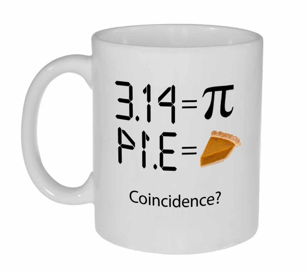 Pi 3.14 - Intergalactic Pi Day Celebration Coffee or Tea Mug #teamugs