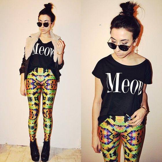 Disco pants (by Pam S) http://lookbook.nu/look/4556179-disco-pants