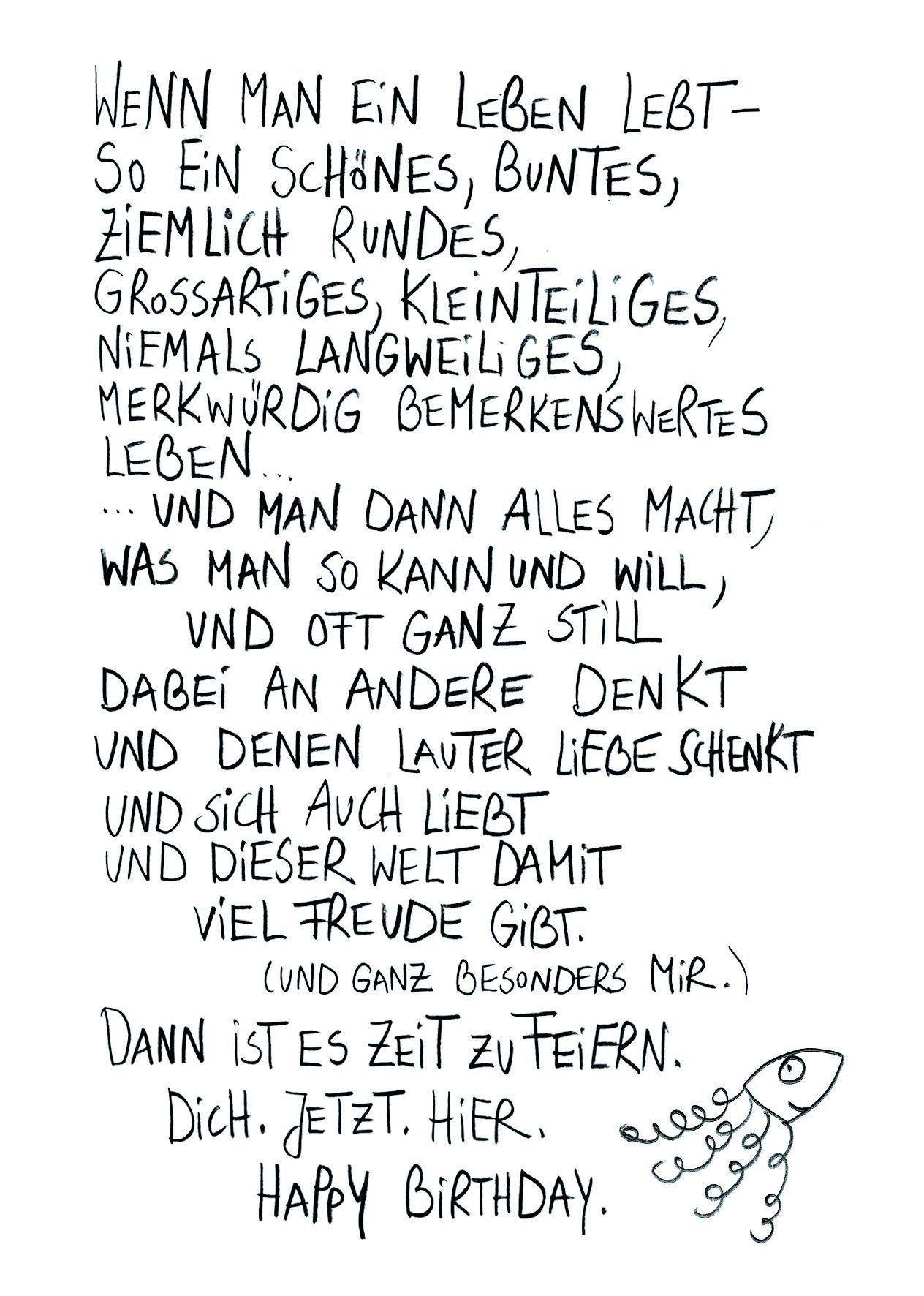 Postkarte Feierzeit Edition Gute Geister Geburtstagskarten