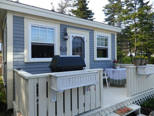 Cottage And Deck Blue House Als