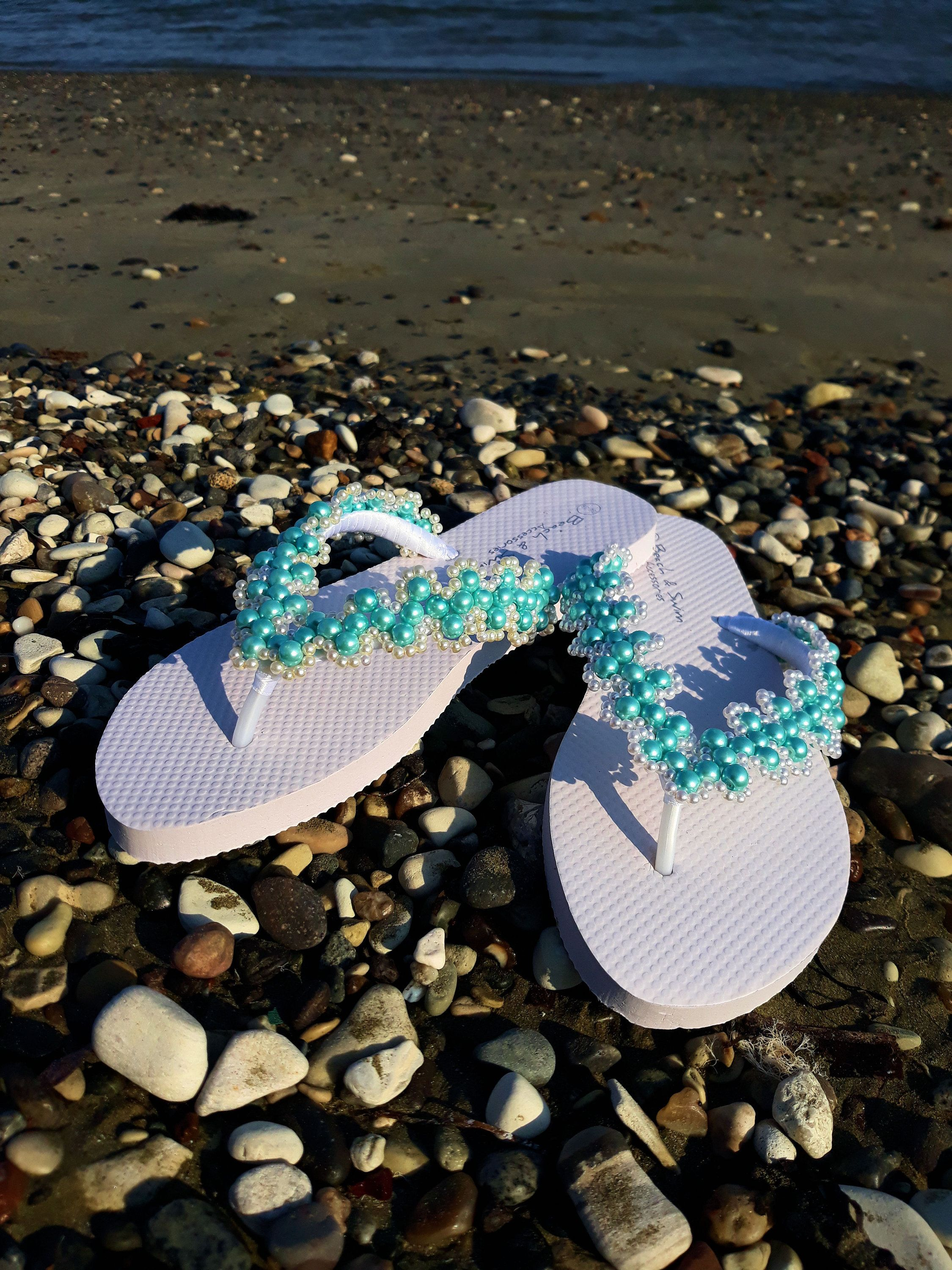 2a89d03d8c45c New addition to my  etsy shop  Handmade Sandals Wedding Shoes Beach Shoes  Flip Flop