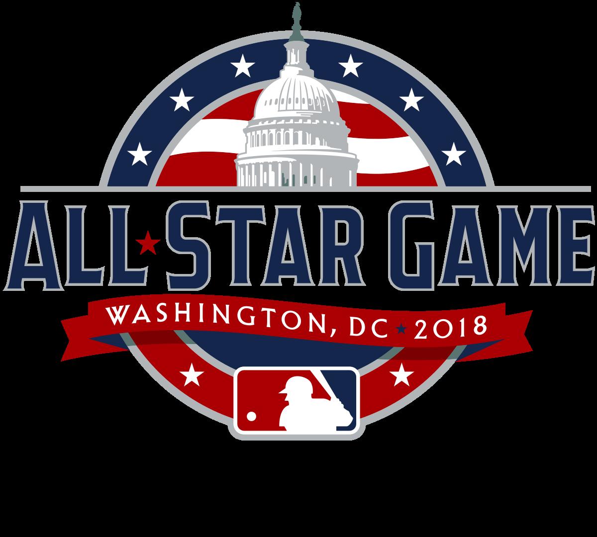 All Star Game Logo 2018 Png Image Game Logo All Star Major League Baseball