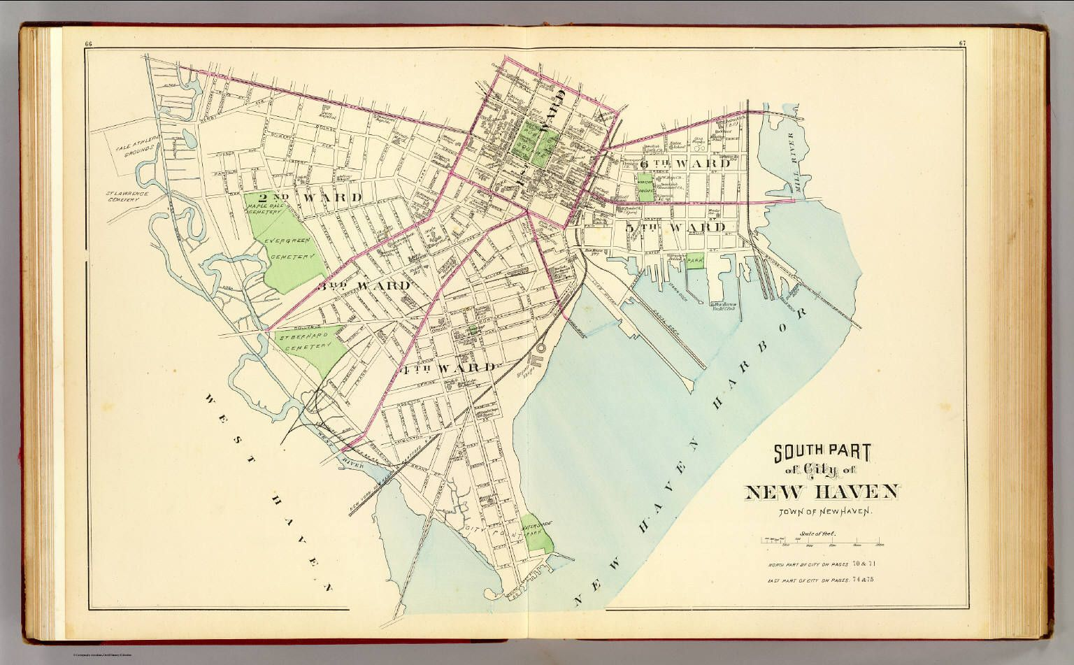 new haven connecticut map 1893 Map Of New Haven Wards New Haven County Map New Haven new haven connecticut map