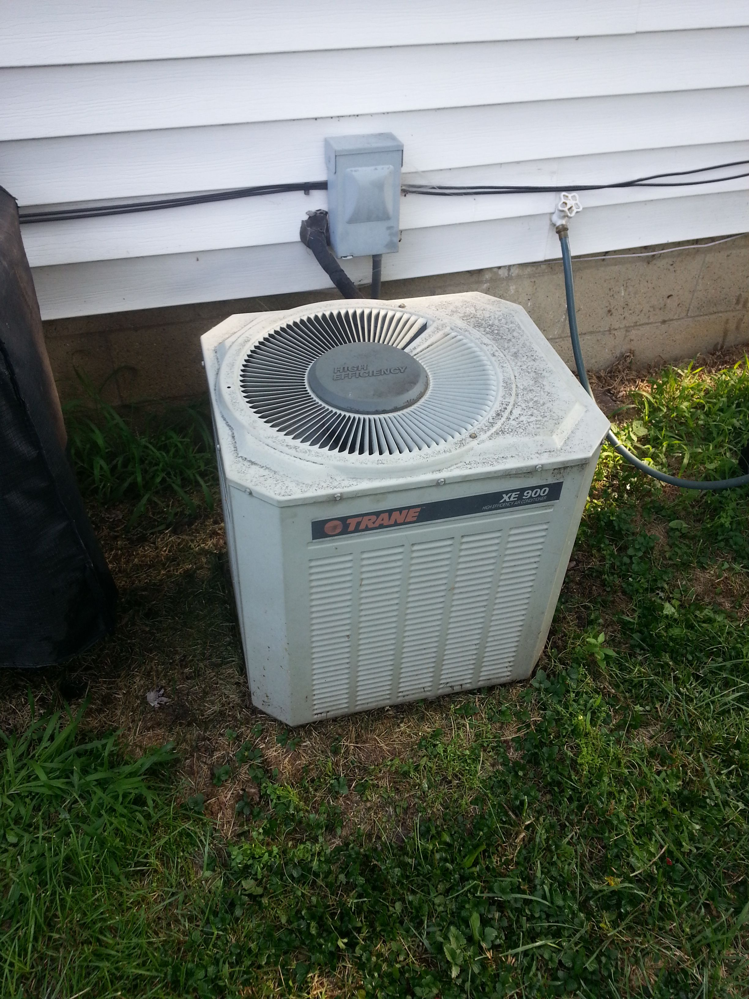 Serviced AC in Westerville, Ohio Air conditioning