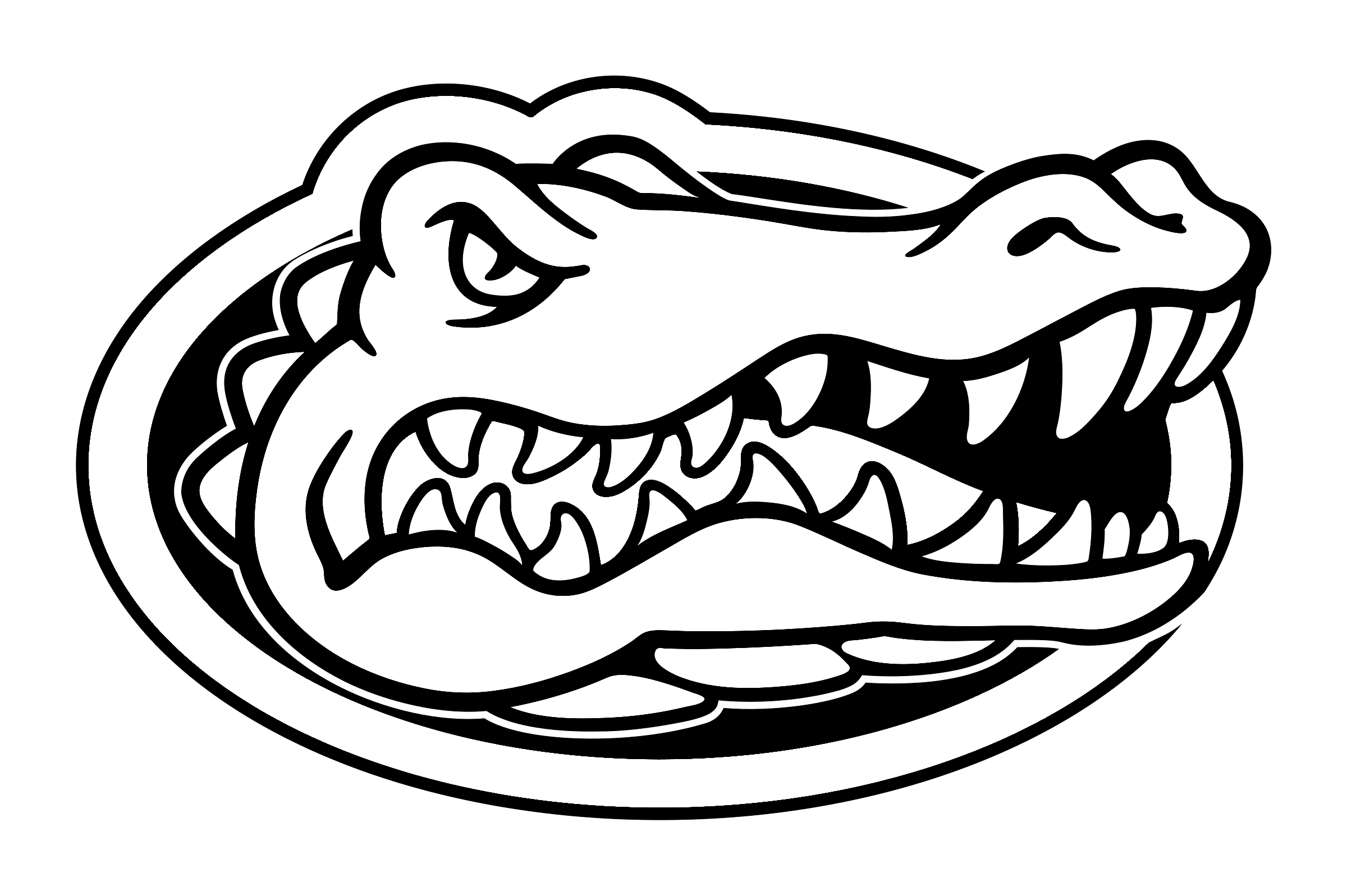 Florida Gators Logo Png Transparent Svg Vector Freebie Supply Florida Gators Logo Gator Logo Florida Gators