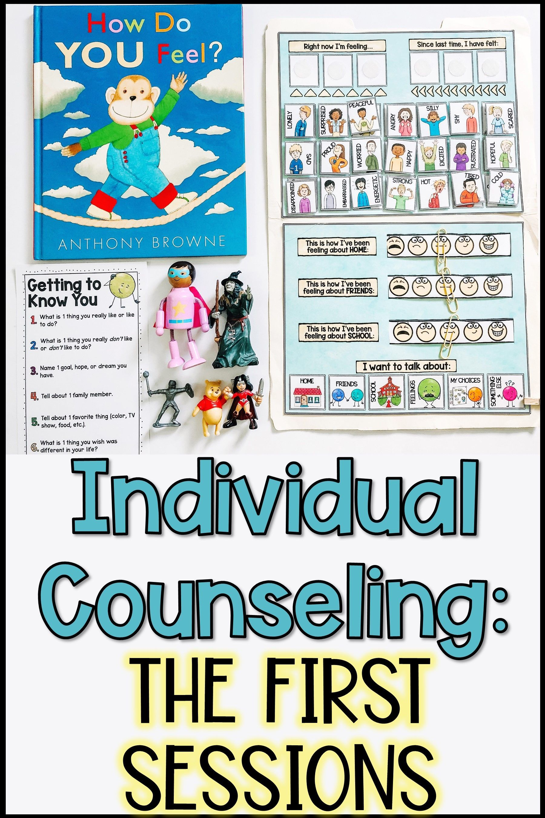 Looking For Activities To Do In Your First Counseling