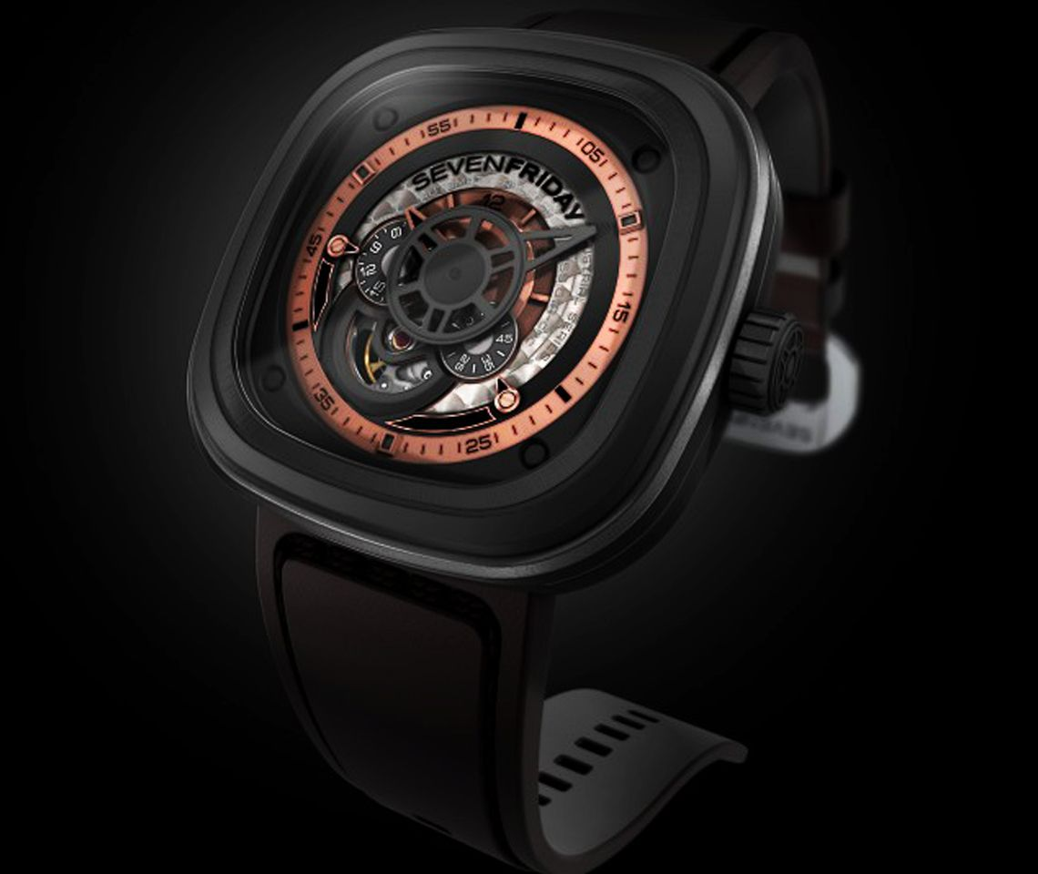 Sevenfriday P2 01 Leather Strap Watch From Berry S Jewellers Watches For Men Watches Luxury Watches For Men
