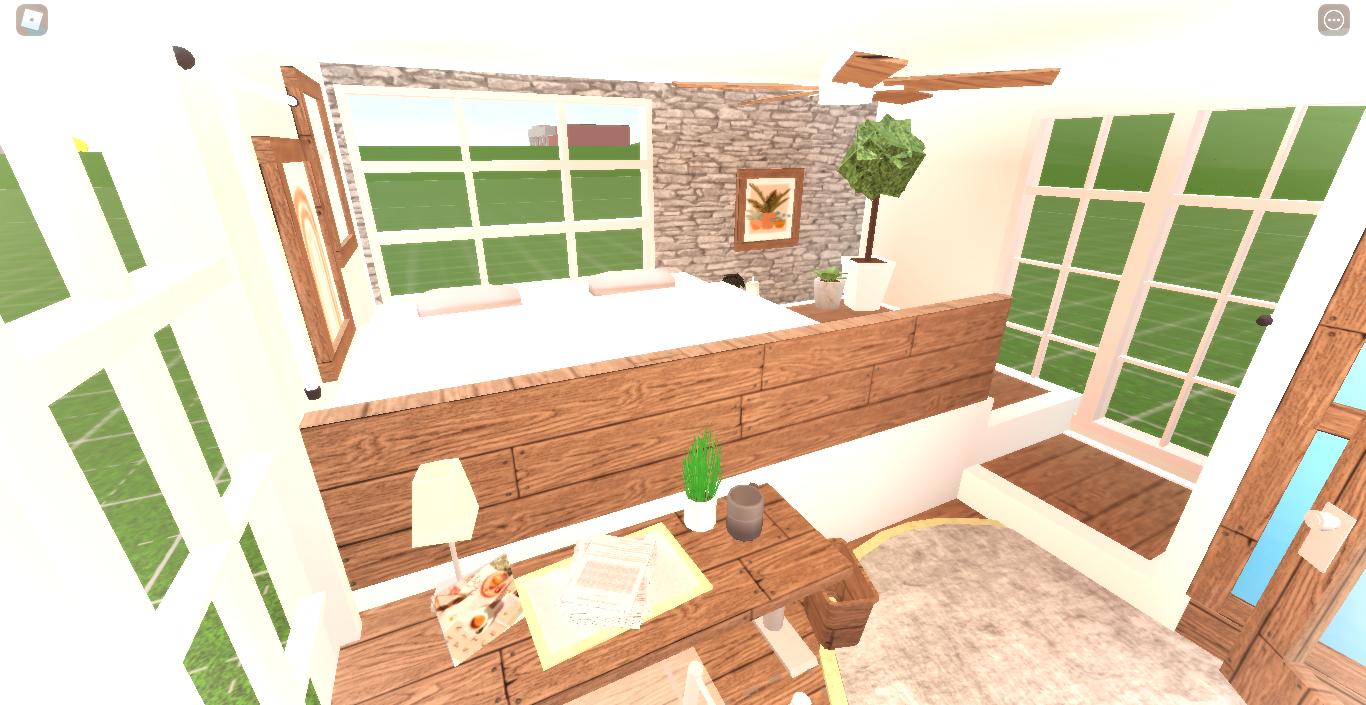 Bloxburg Build Hack Aesthetic Bedroom Loft! in 2020