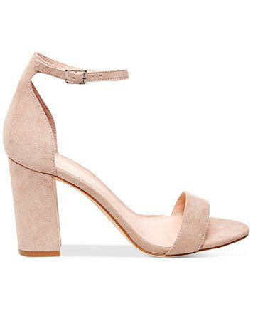 Madden Girl Bella Two-Piece Block Heel Sandals   macys.com