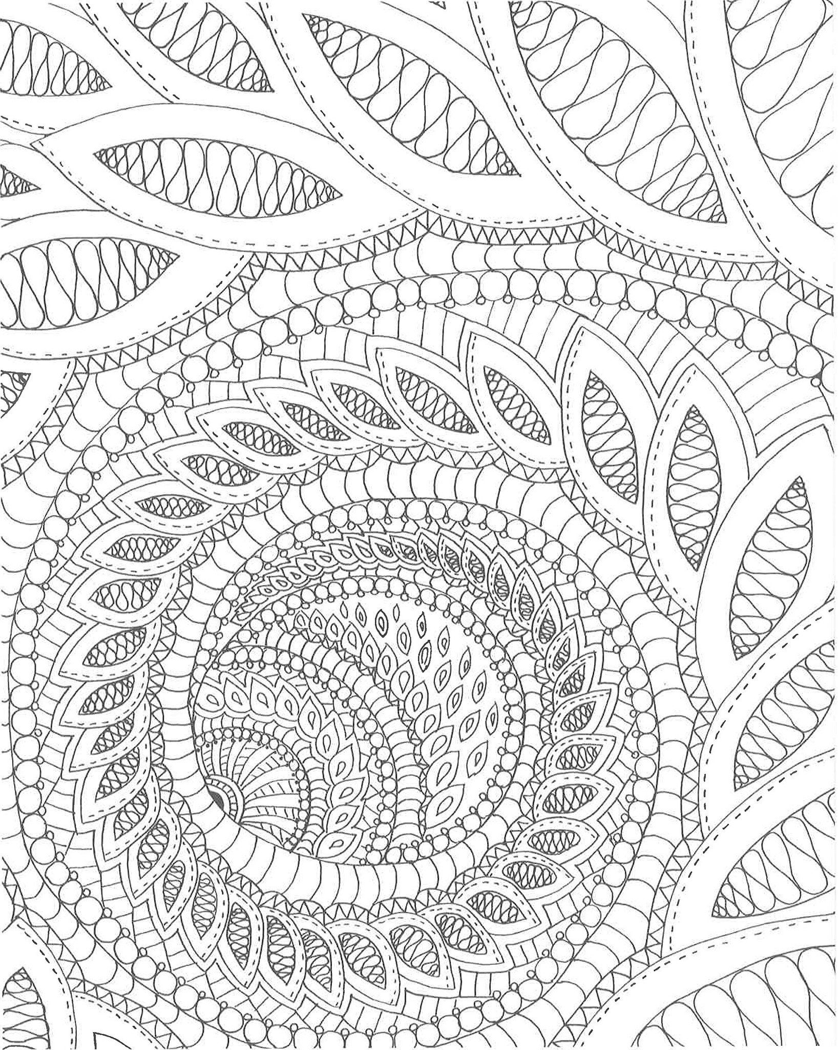Calming Swirls Stress Relieving Designs To Color And Display