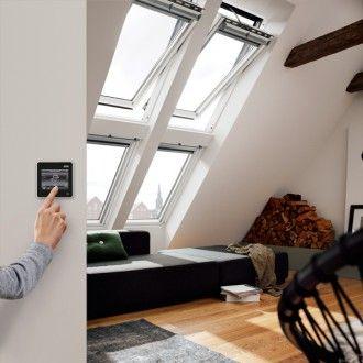 Velux Integra Dachfenster Ggu 006630 Solarfenster Kunststoff Energie Plus Fenster Dachfenster Fenster Und Schwingfenster