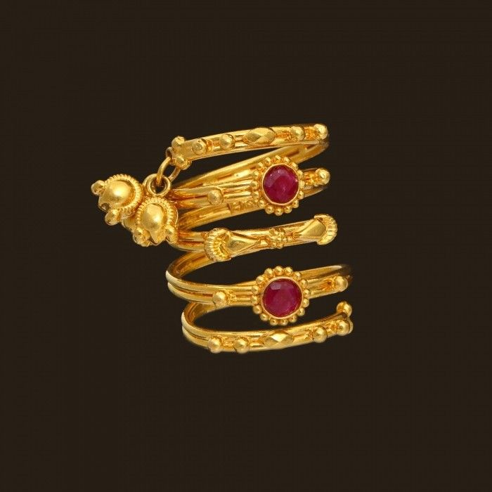 gold toe rings india